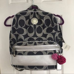 Coach mini backpack new with tags